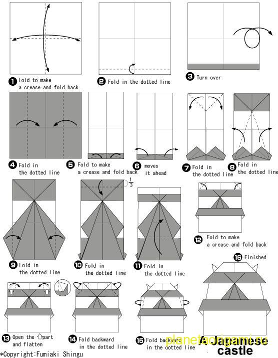 Оригами самолеты простые