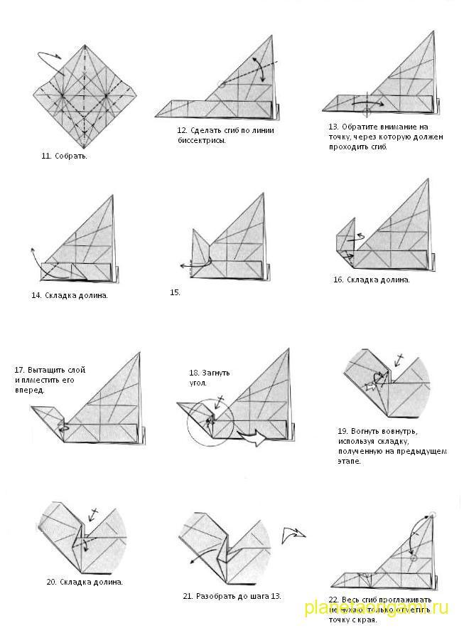 схема лисы от Романа Диаза. comments powered by HyperComments. схема оригами лиса.