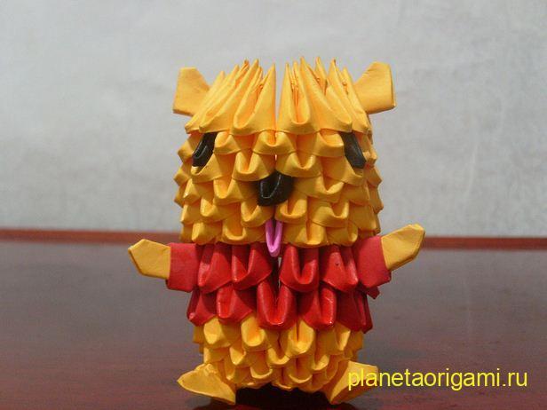 Поделки из оригами модули видео