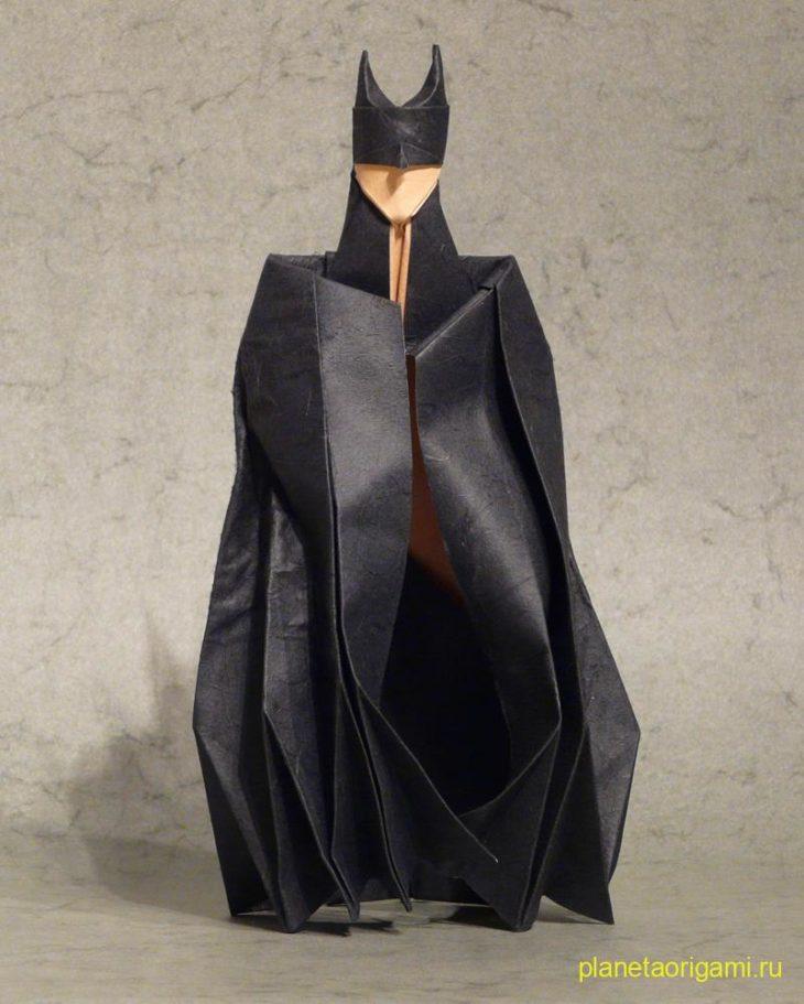 Бэтмен оригами
