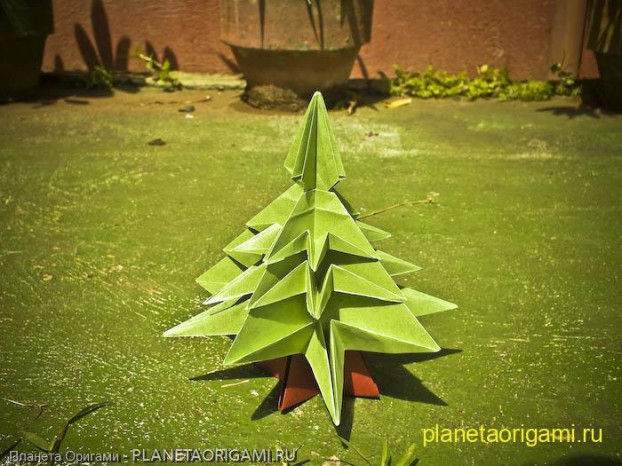 Модульное оригами схемы Планета Оригами - Part 4.