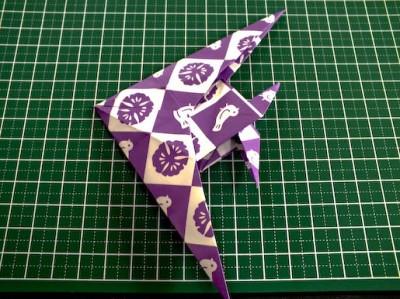 Скалярии оригами