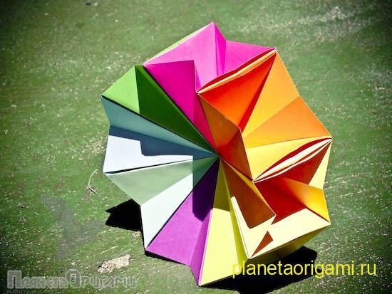 Круги оригами