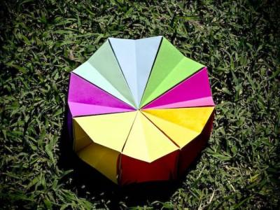 оригами магический круг