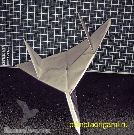 Как сделать самолет из бумаги су-27
