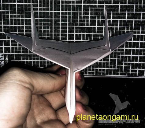 Оригами из бумаги самолеты