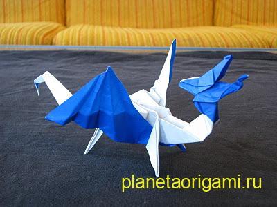 Бумажный KNL дракон