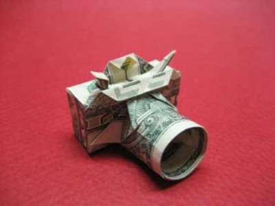 оригами фотоаппарат