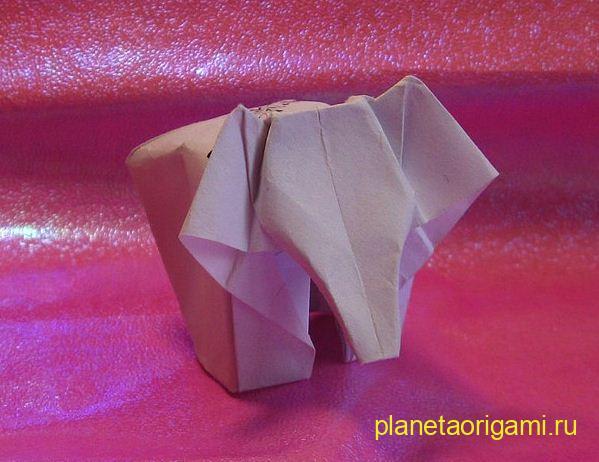 модульное оригами схема мухомора.
