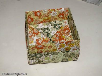 ящик оригами
