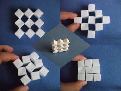 Подвижные кубы сонобе