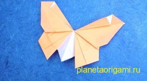 Бумажная бабочка