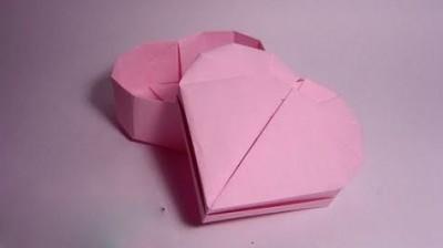 оригами сердце коробочка