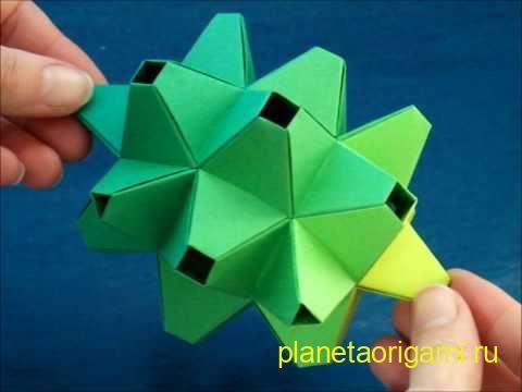 Модульное оригами схемы Планета Оригами - Part 2 Размер: 360=480.