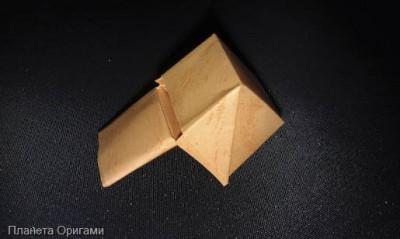 Свисток оригами