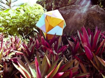 звезда сонобе оригами
