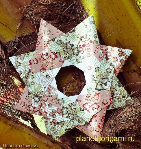 От christine edison планета оригами