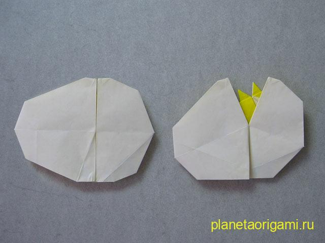 Яйцо оригами