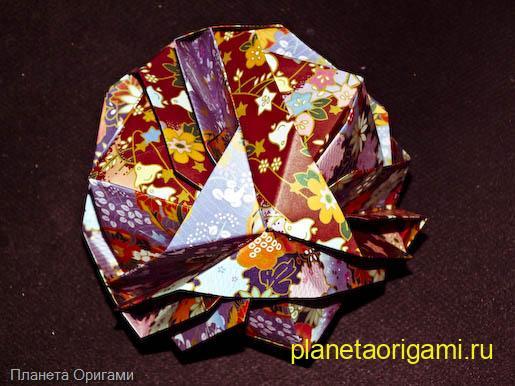 Оригами капуста