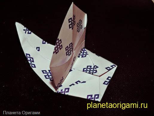 Схема оригами: Парусник - Схемы оригами - Каталог статей.