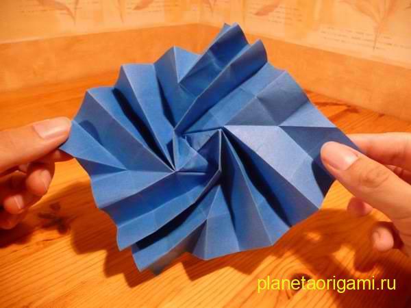 оригами флешер