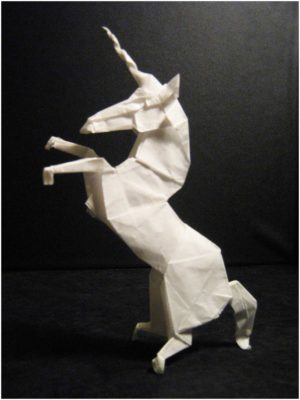 Origami unicorn схема - Авто-