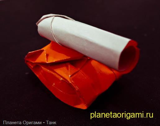 Модели из бумаги танк схема.