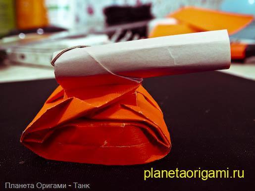 Оригами схема танк - сайт с руководствами.  На нашем портале.