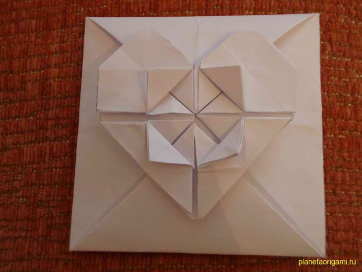 Оригами поделки на основе базовая форма блинчик