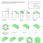 Сборка шестиугольника из бумаги
