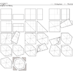 Гексагон из бумаги схема сборки
