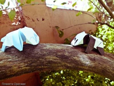 Бумажная панда