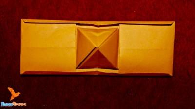 пирамида внутри открытки