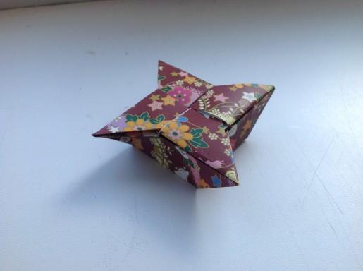 коробка звезда