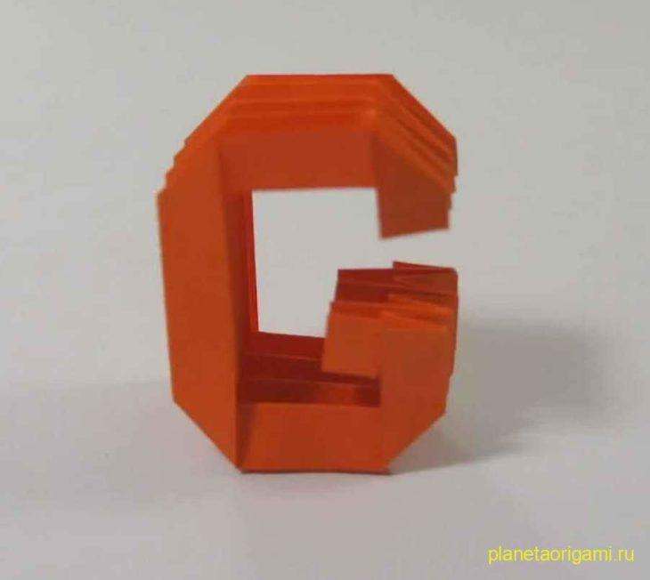 Заглавная и строчная буква «G,