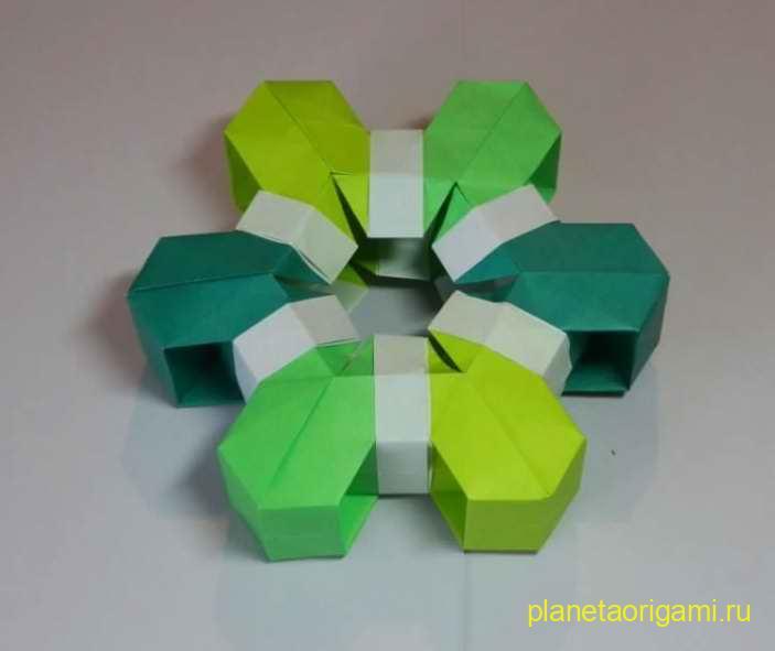 оригами свисток.