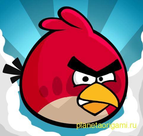 Angry Birds выглядит так: