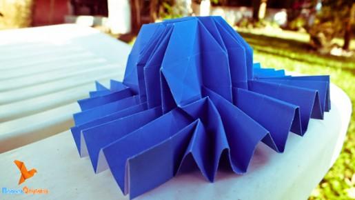 флешер-шляпа оригами
