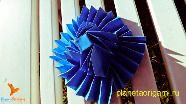 Флешер-шапка из бумаги