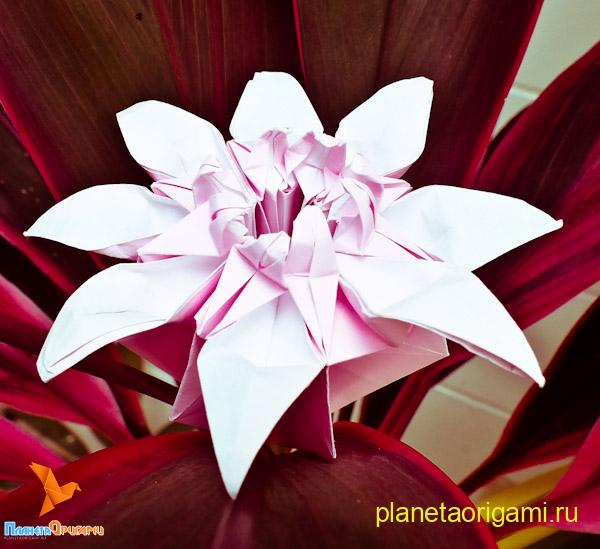 Для сборки одного цветочного