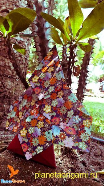 интересное бумажное дерево