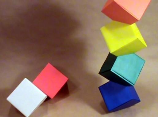 Origami Columbus Tower.