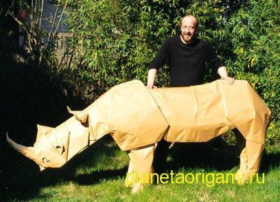 гигантский носорог жуазеля