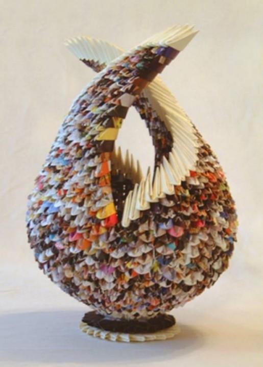 модульное оригами от Франсины Левинсон