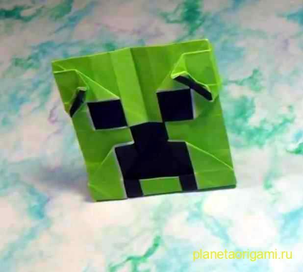 Куб из майнкрафта
