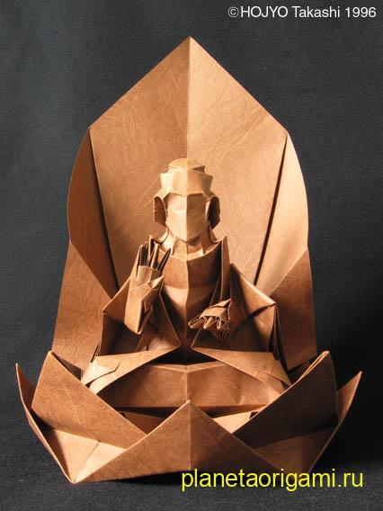 будда из бумаги