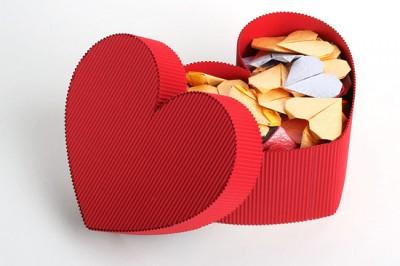 свадебный подарок оригами