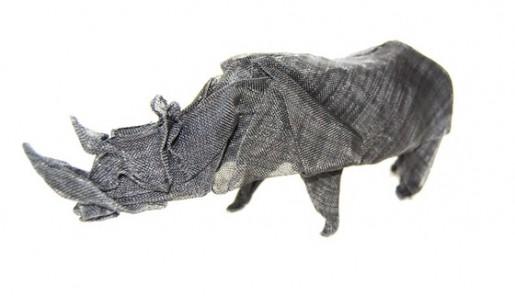оригами из металлической сетки