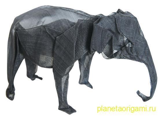 оригами из металла