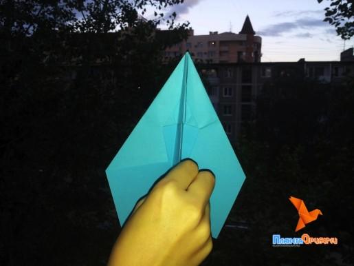 самолет киригами